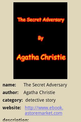 THE SECRET ADVERSARY - screenshot