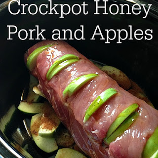 Crockpot Honey Pork and Apples.