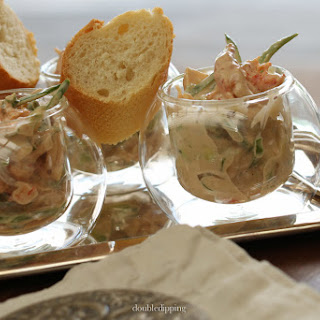 "Crayfish Salad – ""Flusskrebserlsalat"""
