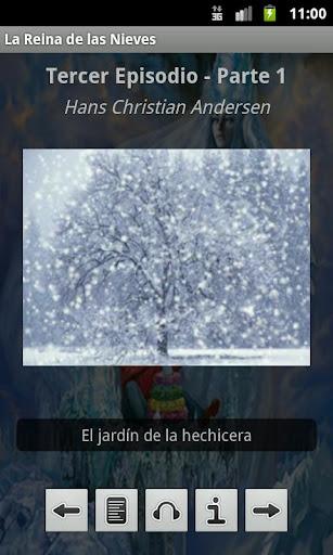 Screenshots #4. La Reina de las Nieves / Android