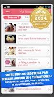 Screenshot of Ma grossesse