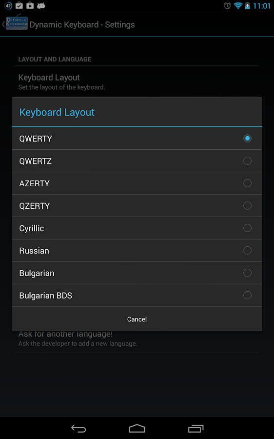 Dynamic Keyboard - Free- screenshot