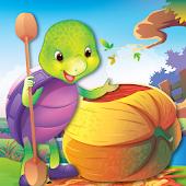 Purple Turtle: Pumpkin Race