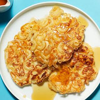 Macaroni n Cheese Pancakes.