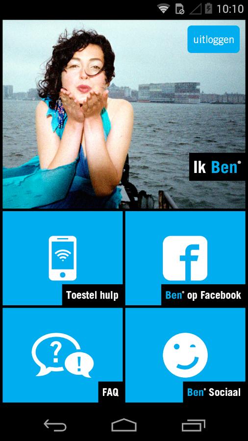 Ben App - screenshot