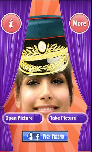 礼帽和宽边帽的搞笑图片