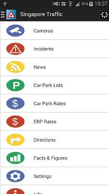 Singapore Traffic - screenshot