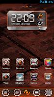 Screenshot of BlackQuartz Clock Widget