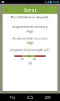 Screenshot of Accurate Compass