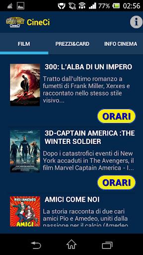 【免費娛樂App】Century CineCi-APP點子