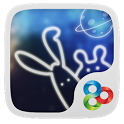 Rabbits Live in Antares Theme icon