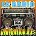 RADIO GÉNÉRATION 80's icon