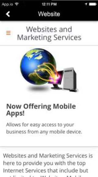 Websites & Marketing Services- screenshot