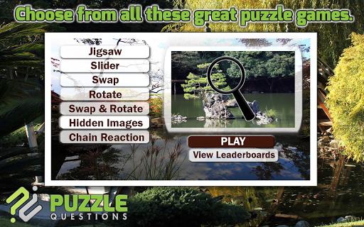 Free Japanese Garden Puzzles