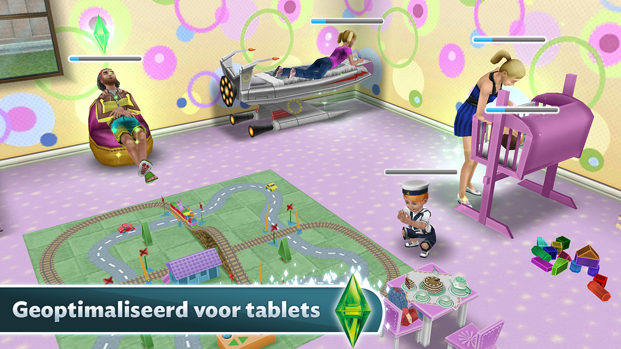 De simstm freeplay android apps op google play for Baby bathroom needs sims freeplay