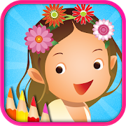 Coloring Girl - Draw & Doodle