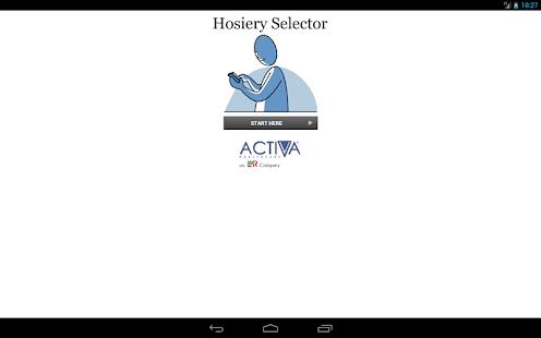 Activa Hosiery Selector- screenshot thumbnail