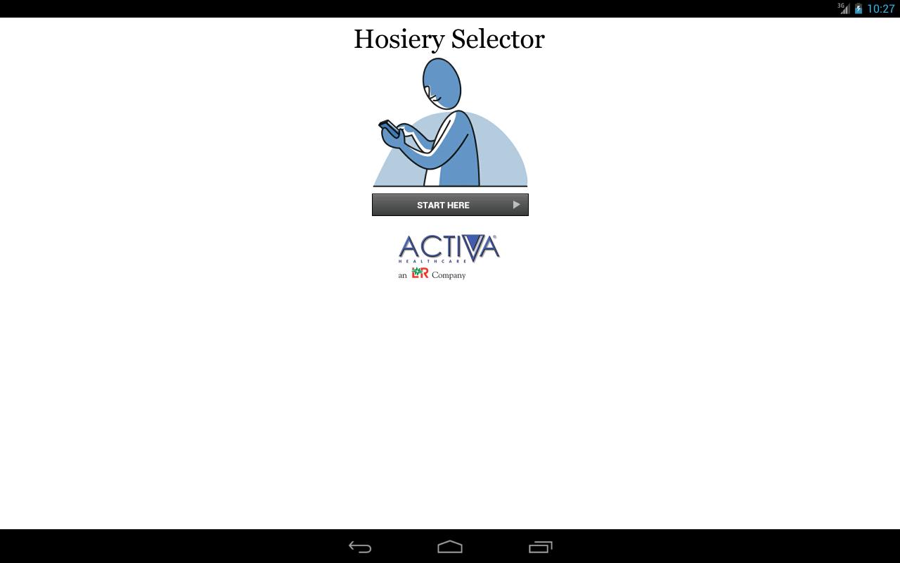 Activa Hosiery Selector- screenshot