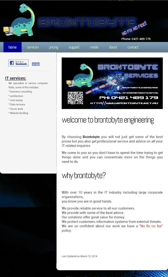 Brontobyte IT Services- screenshot