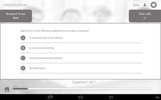 Screenshot of Interview 101 by GoLearningBus