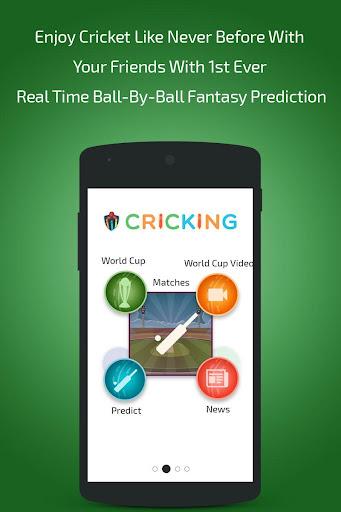 Cricking Live Scores Predict
