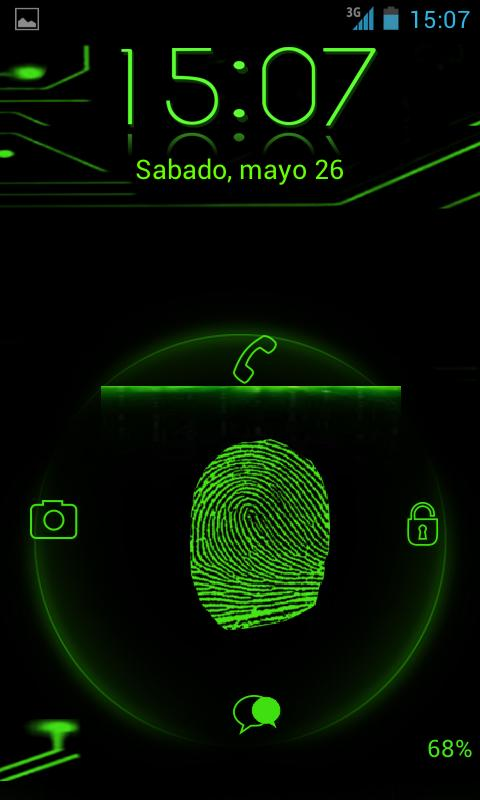 Fingerprint Scanner Galaxy S5 - screenshot