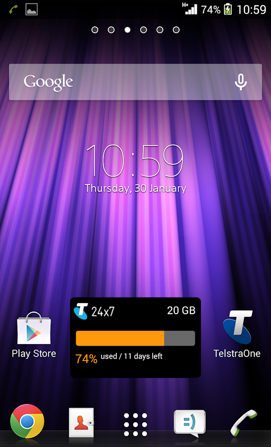 TelstraOne - screenshot