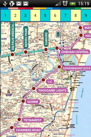 Madras Chenai Maps