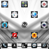 Black White Theme GO Launcher