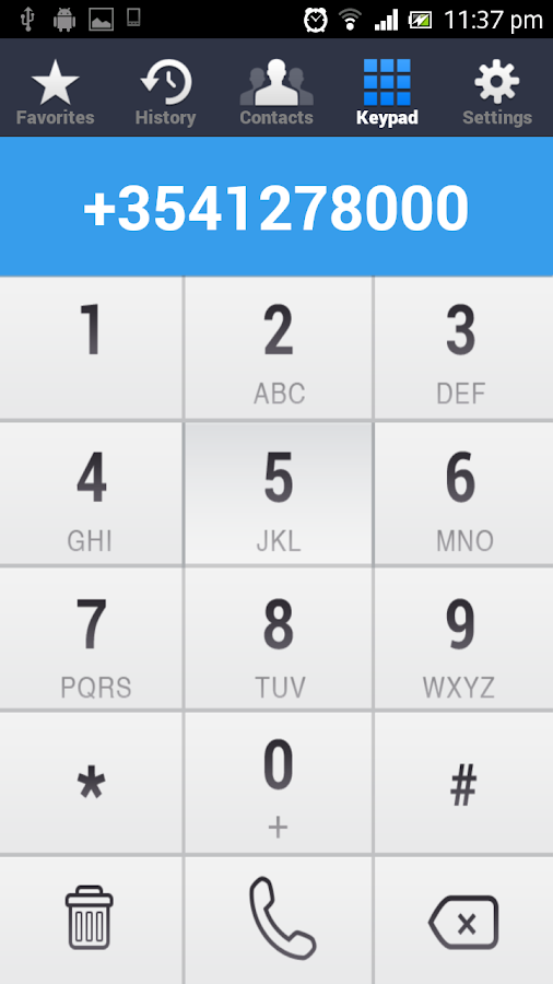 Bolid Mobile - Cheap Calls- screenshot
