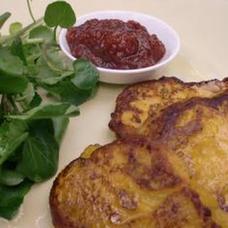 Squash Fritters with Chilli Jam Recipe