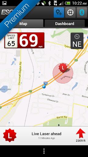 Escort Live Radar screenshot