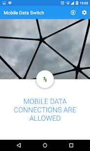 Toggle Mobile Data Screenshot