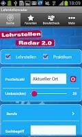 Screenshot of Lehrstellenradar 2.0