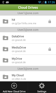 One.com Cloud Drive - screenshot thumbnail
