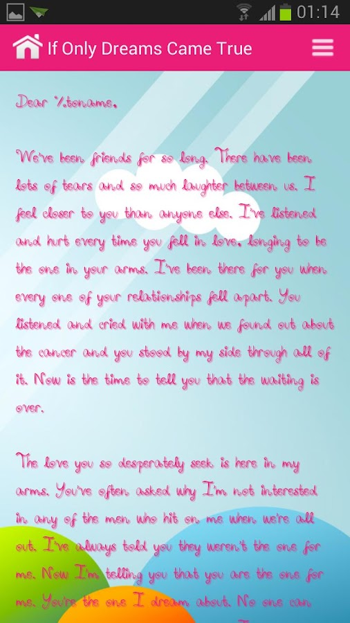 Love quotes, letters & poems - screenshot