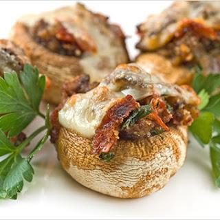 Stuffed Mushrooms Italian-Style