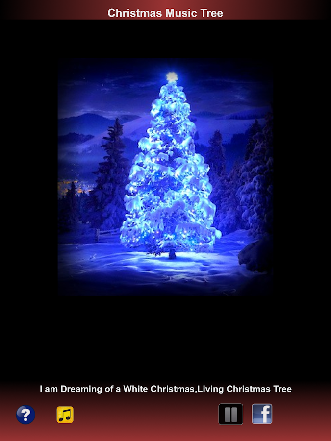 Christmas Music Tree Playlist - screenshot