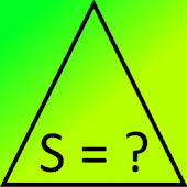 Area of ​​a triangle formula