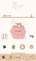 Screenshot of strawberry bath dodol theme