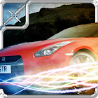 Extreme car drift run 3D icon