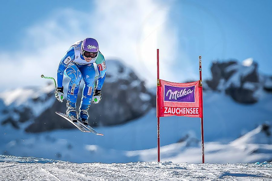 Blue by Jure Makovec - Sports & Fitness Snow Sports