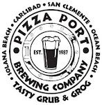 Logo of Pizza Port Ocean Beach Xmas Saves Ernest