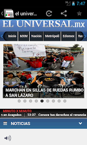 Newspapers & magazines Mexico screenshot 1