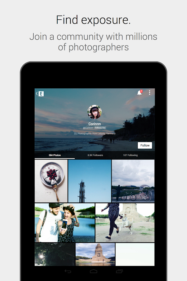 EyeEm - Camera & Photo Filter - screenshot