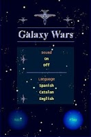 Screenshot of Galaxy Wars