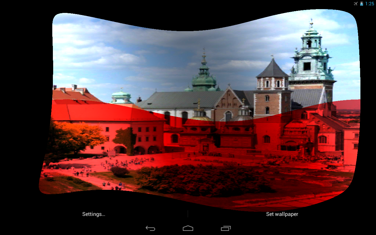 poland flag live wallpaper android apps on google play