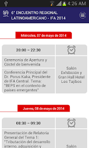 IFA Bolivia 2014 screenshot 1