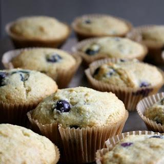 Paleo Blueberry & Lemon Muffins