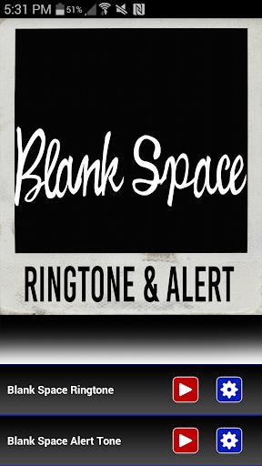Blank Space Ringtone Alert